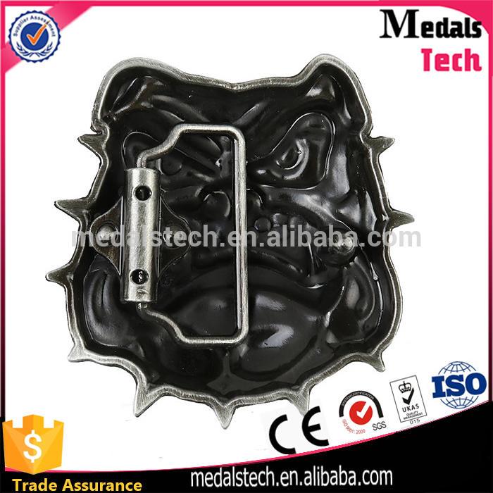 Dongguan Manufacturer Custom Metal Men Leather Pressing Reversible Slide Belt Buckle Parts