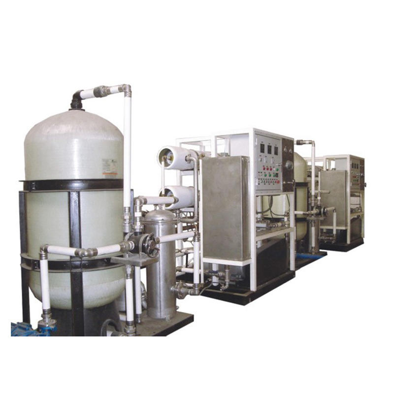 Cheap salt water treatment machine with safe and reliable piping system