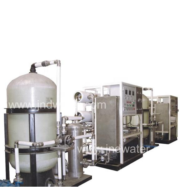 Best selling full-automatic salt water treatment machine