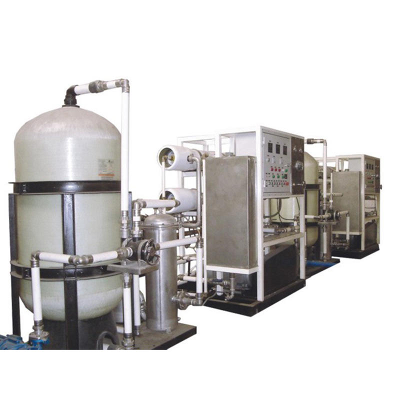 Effectively remove heavy metal ions salt water treatment machine