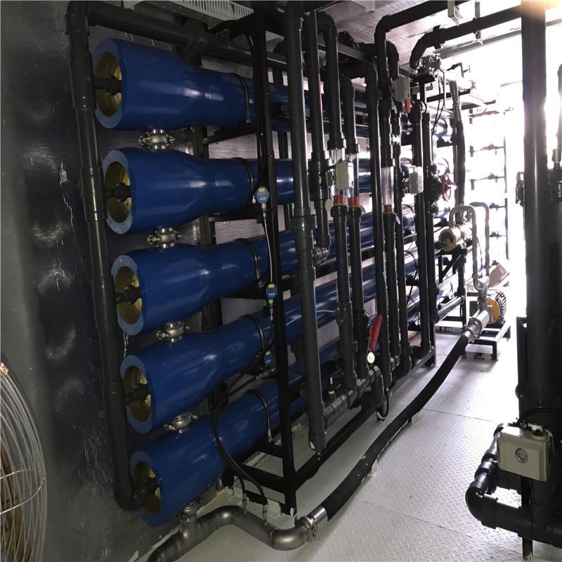 Model JND-SW50 operating pressure 4 ~ 6.5Mpa sea water desalination