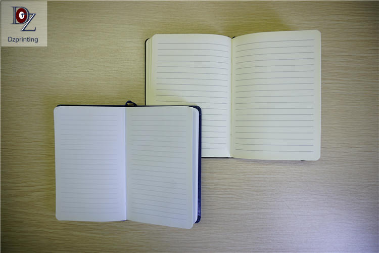 product-Dezheng-Guangzhou 25 Years Factory Book Printing Hardcover Sewn Notebook A5 With Logo-img-1