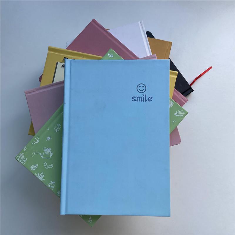 8.5x11 Cheap Case Binding Journal Planner Custom Prints Hardcover Notebook