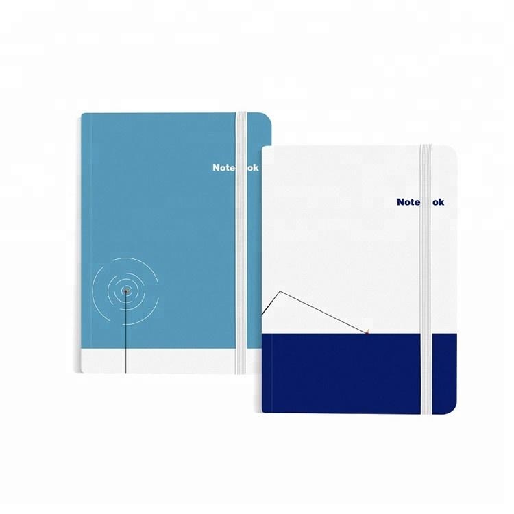 A5 High-End Hardcover Journals e Blank Book Personalize Notebooks For School