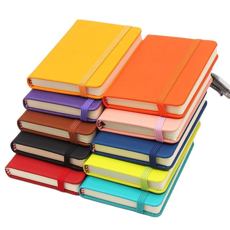 Custom A5Elastic Band Handmade Book Hardcover Eco Friendly Notebook