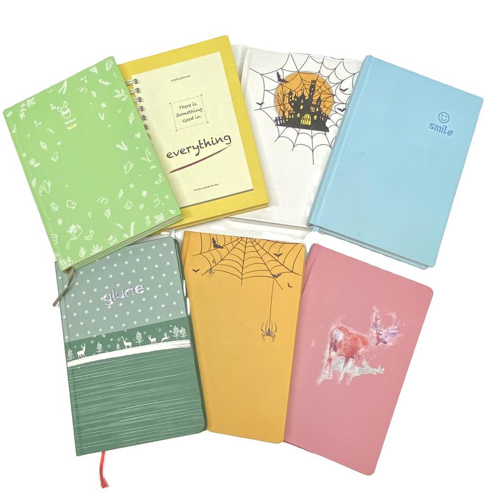 Custom Elegant Journals Daily Planner Children Book Printing Hardcover