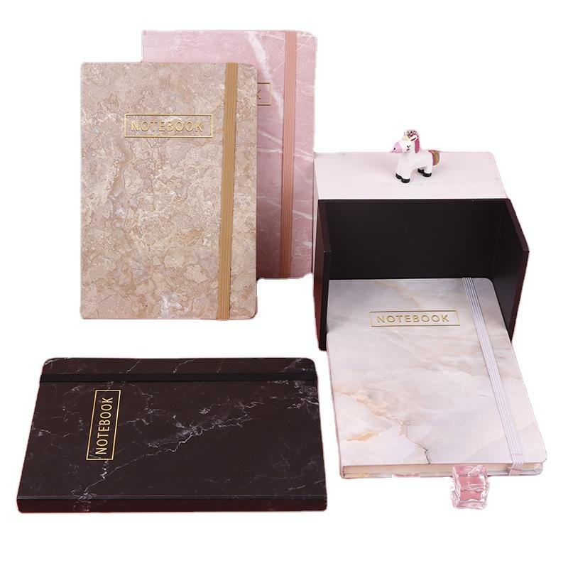 product-Custom High Quality 2022 Daily Planner Elastic Band To Book Custom Logo Vegan Hardcover Note-1
