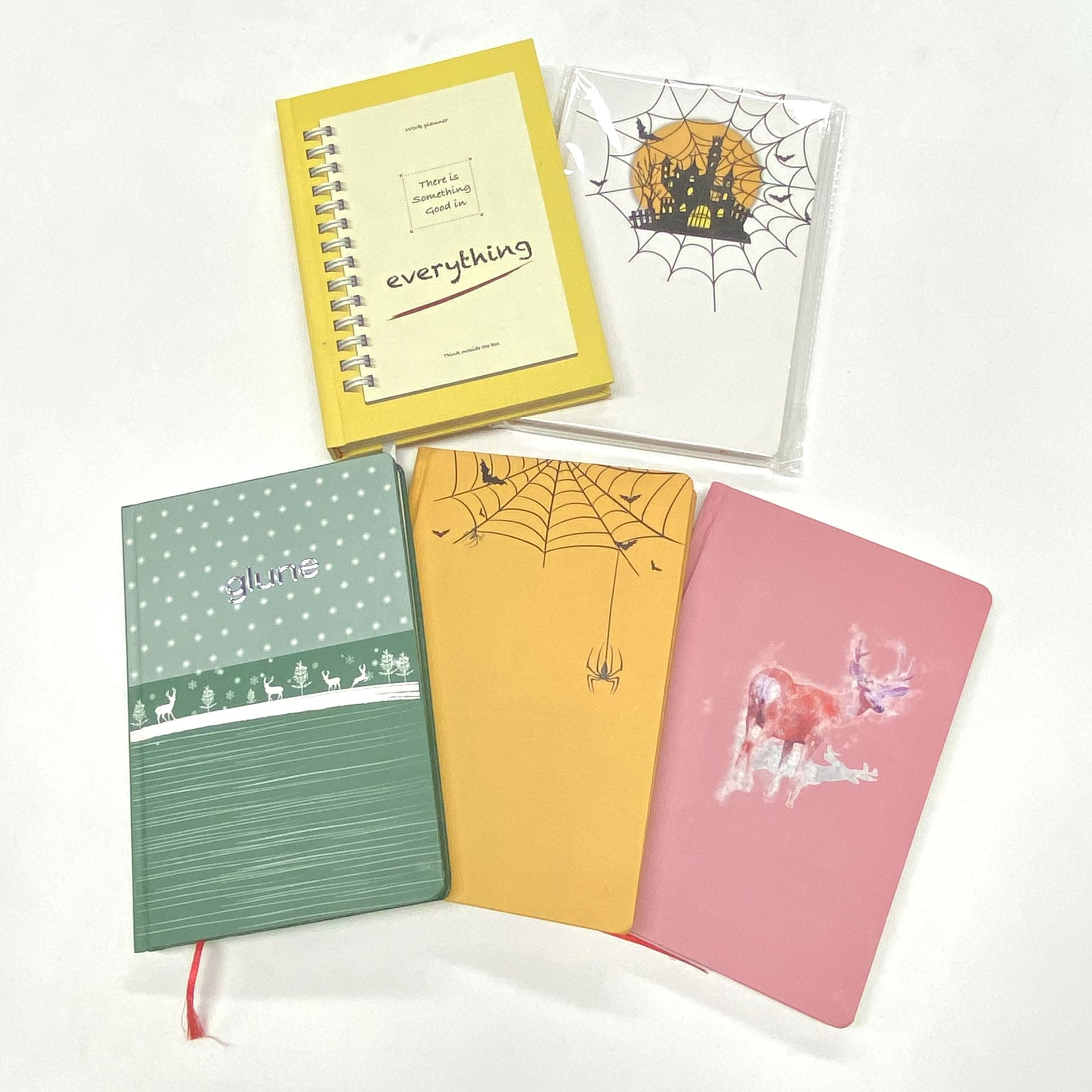 product-Custom Monthly Weekly Cheap Printed Hardcover Gratitude Journal Happy Planner-Dezheng-img-1