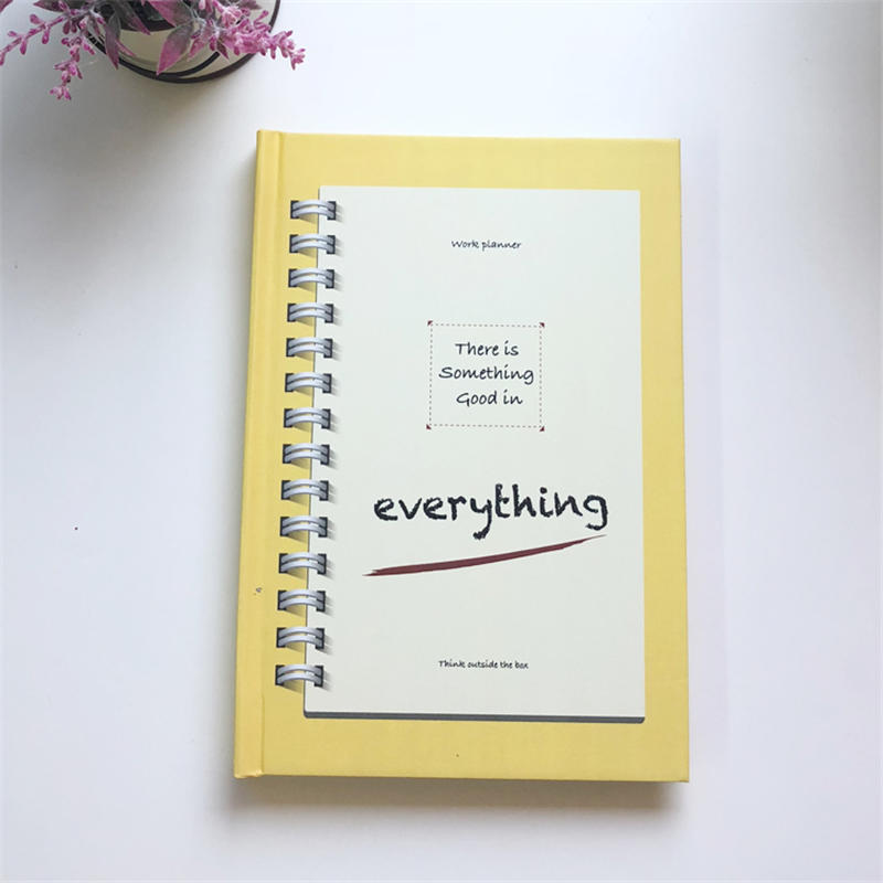 product-New Design Cheap Factory Price Eco Friendly Custom A5 Notebook Planner With Pen For School-D-1