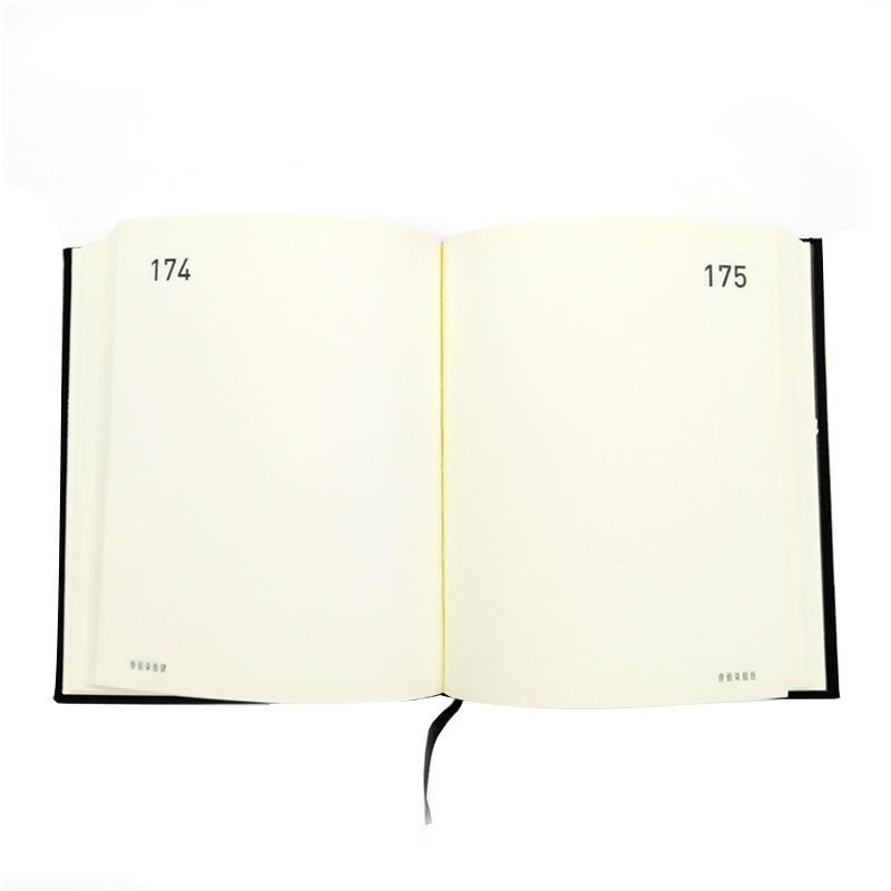 product-Dezheng-Custom Journal Notebook A5 Hardcover Hard Sewn Binding Hardcover Gold Foil Notebook--1