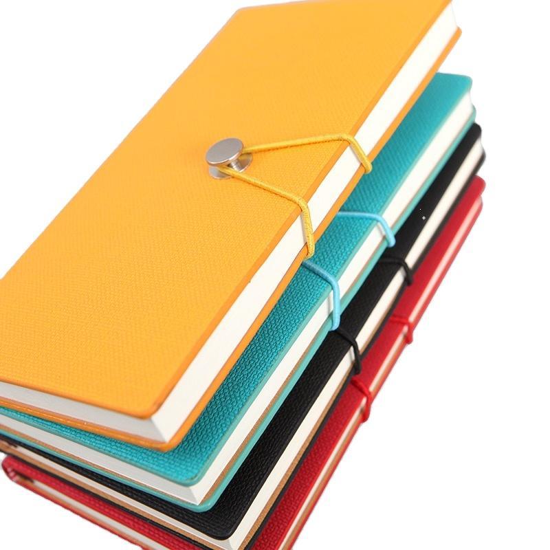 Custom Logo Wide Elastic Bands Journals Notebook Blank Hardcover Guestbook