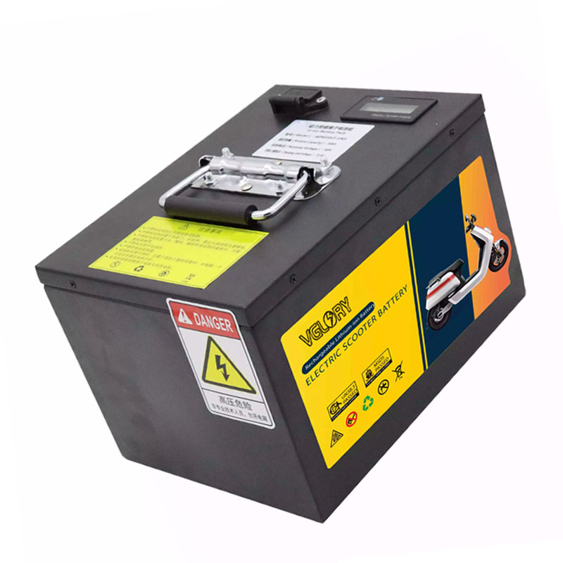 Anti over current protection 60v 30ah lithium ion battery for electric scooter