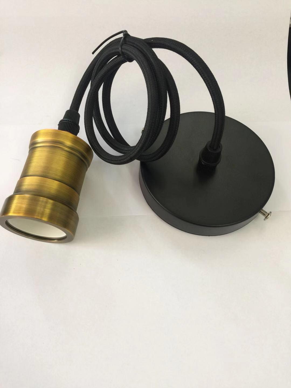 OEM 1m cablewith Retro Vintage E27 E26 Pendant Lamp Holder Hanging Ceiling Light Bulb Socket