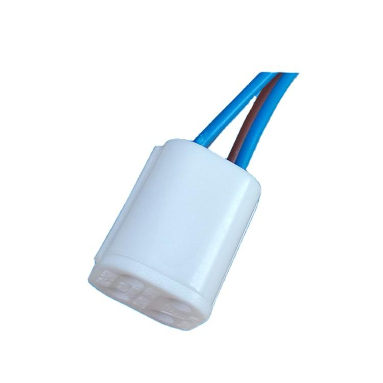 OEM 4pins uv lamp sockethigh quality G10Q with wire UV lamp holder with certification for various countries