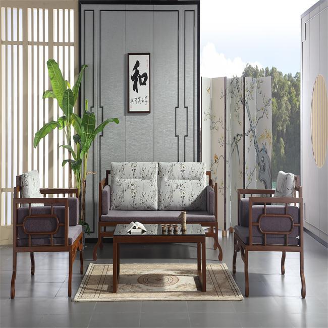 hot sale new design living room furniture waiting sofa customer home furniture sofa Chinese style sectional sofa