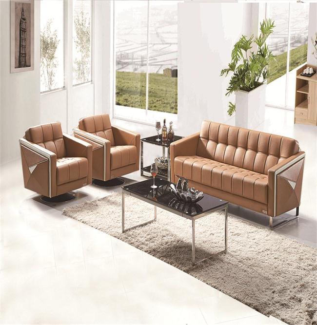 hot sale sectional PU leather waiting sofa office sofa office room furniture hotel sofa