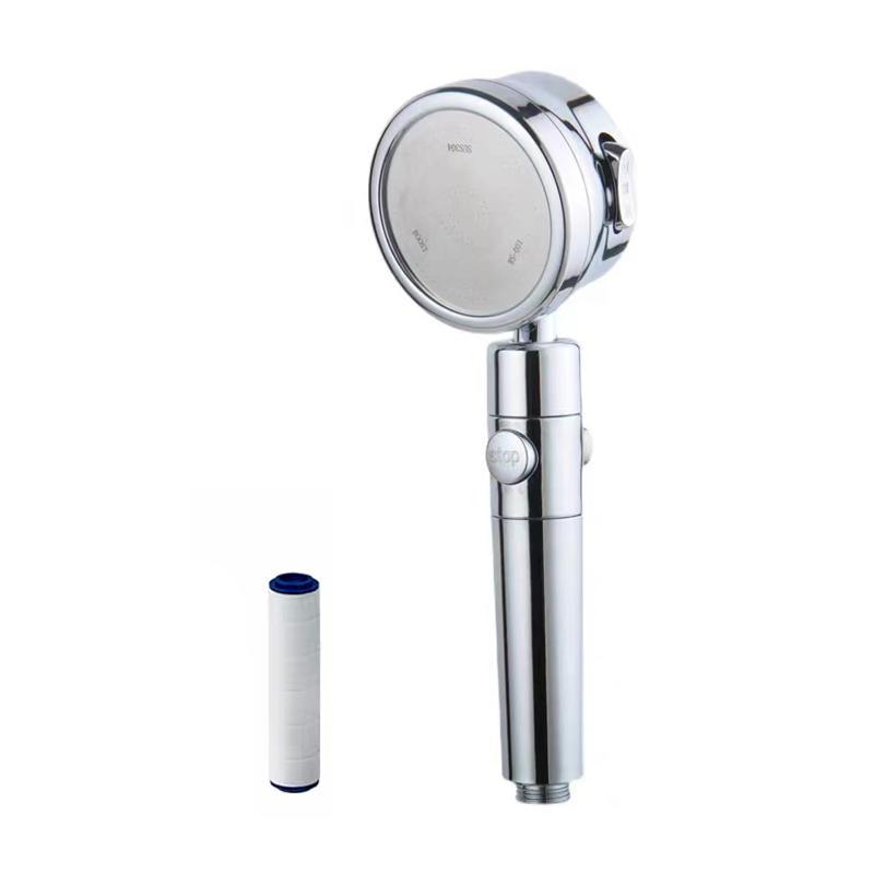Hot Selling Wholesale Hollow Fiber Membrane Shower Filter Bakki Shower Filter Stainless Steel Micreo Bubble Filter Shower