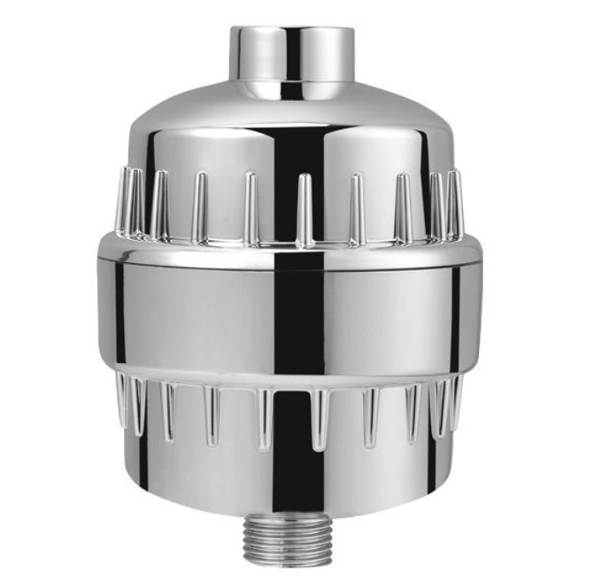 High Output 10 12 15 Stages Universal Rain Shower Water Filters With 2 Replaceable Cartridges