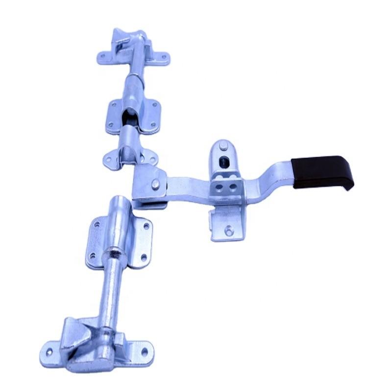 011020 Stainless steel Refrigerated Truck Door Locking Gear Cold Room Door Lock