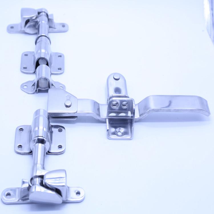 Stainless steel Refrigerated Truck Door Locking Gear Cold Room Door Lock-011020