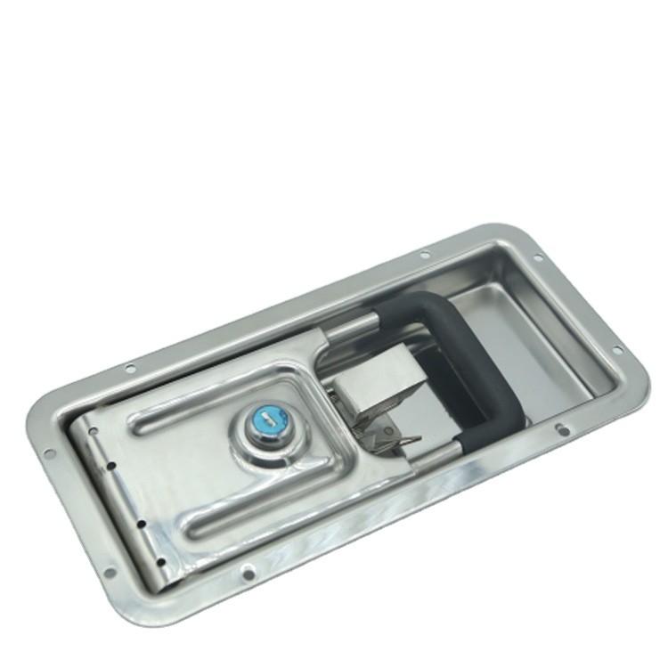 Stainless steel Refrigerated Truck Door Locking Gear Cold Room Door Lock-011270-2-In