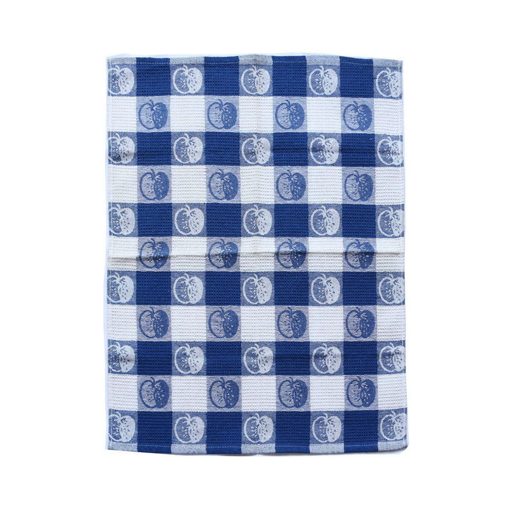 custom 100% cotton waffle printed tea towel