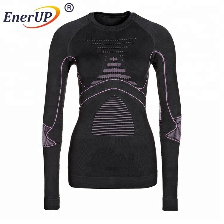 Men outdoors sport base layer seamless thermal underwear