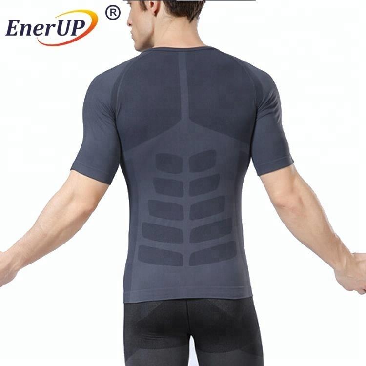 Men's Compression Tank Top Seamless Stomach Shaper Slimming Vest Shirts