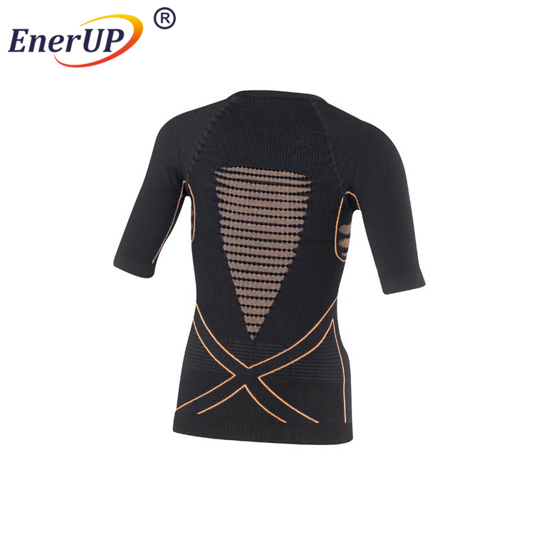 Mens seamless compression long sleeves under base layer tops