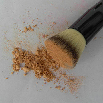 Professional single foundation makeup brush set synthetic hair single makeup brush foundation