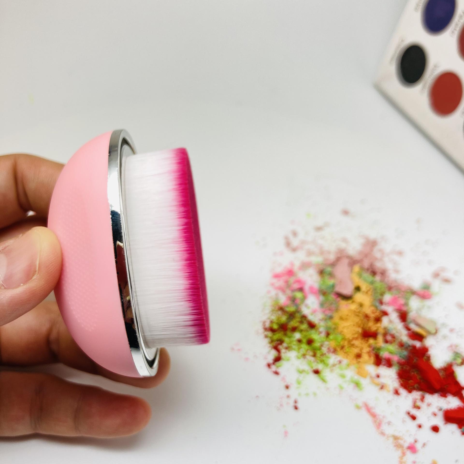 Rotating foundation brush liquid foundation high quality label single makeup brush magic foundation brush
