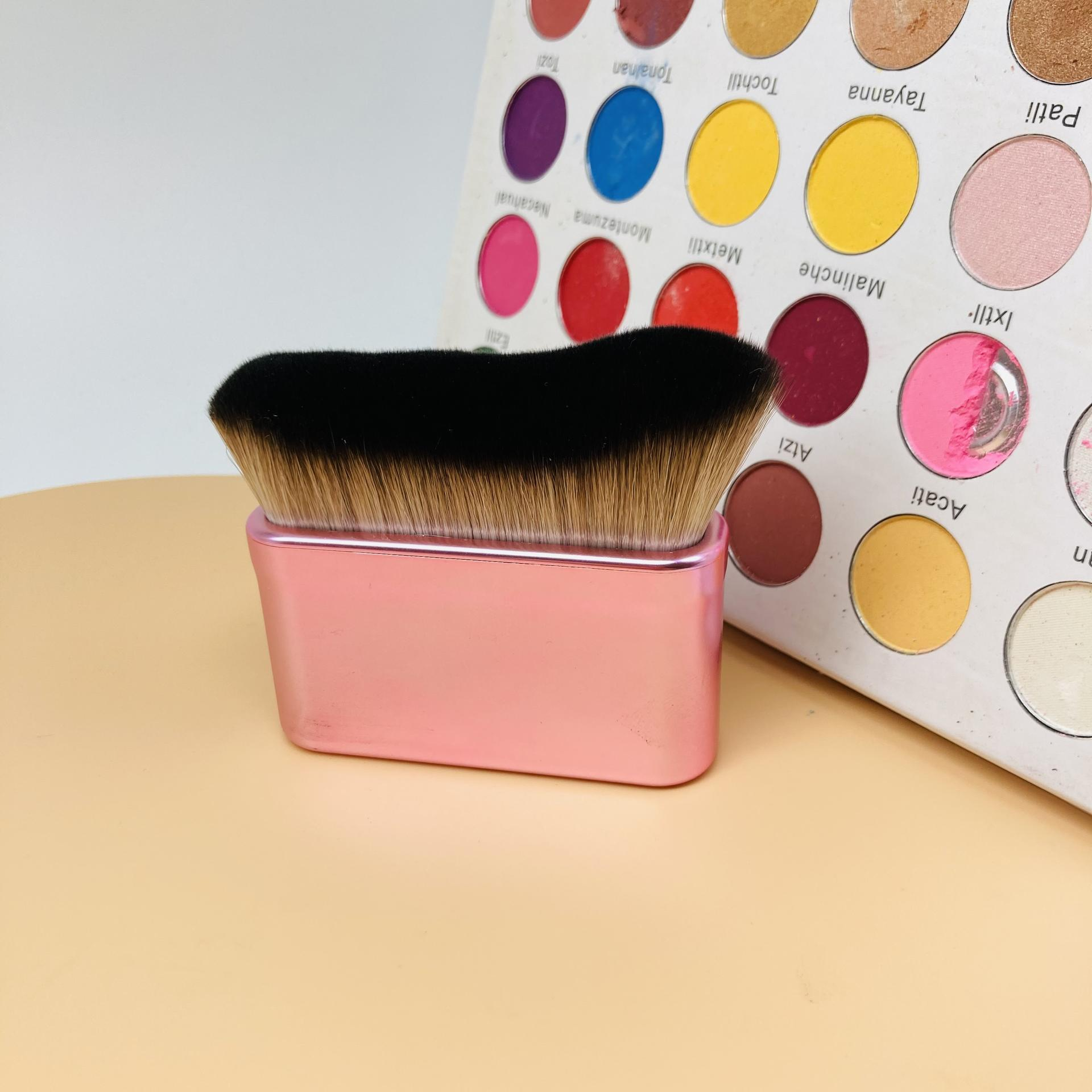 Custom make up brushes high quality professional pink make up brushes private label