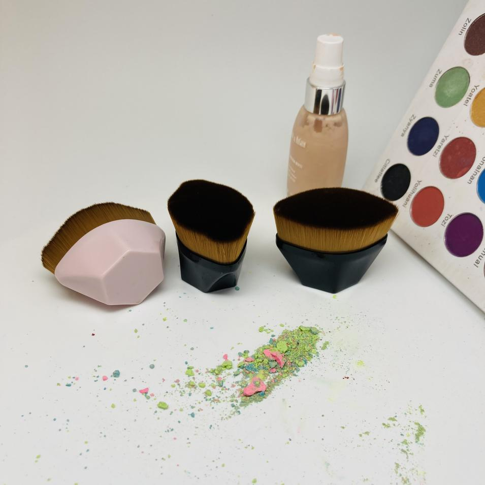 Makeup brushes private label packaging high quality make up foundation brush