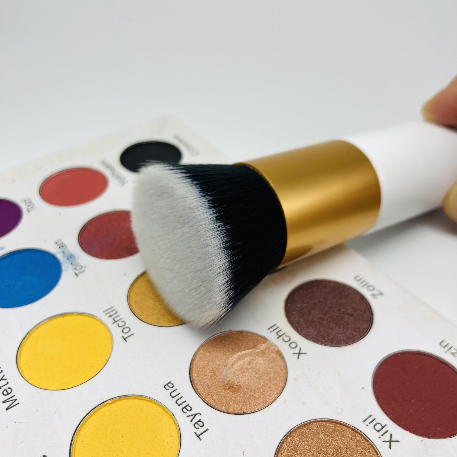 Liquid foundation brush double end foundation makeup powder brush