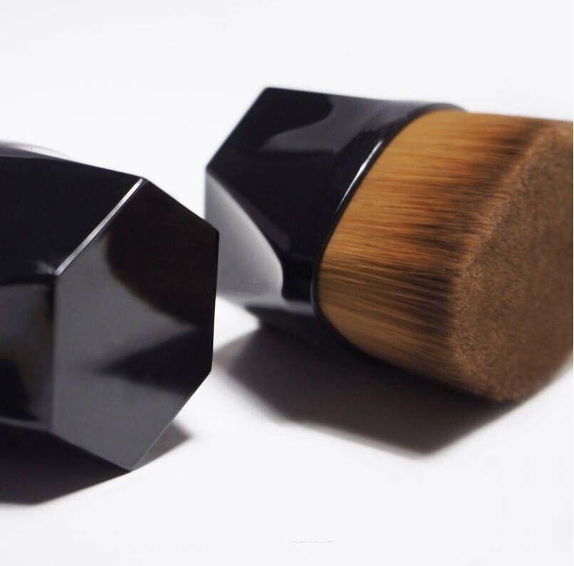 Kabuki body brush wholesale gold No. Number 55 petal shape large kabuki body foundation powder brush