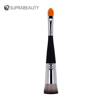 Double sided make up brush kabuki powder brush set custom logo nylon make up brushes vegan