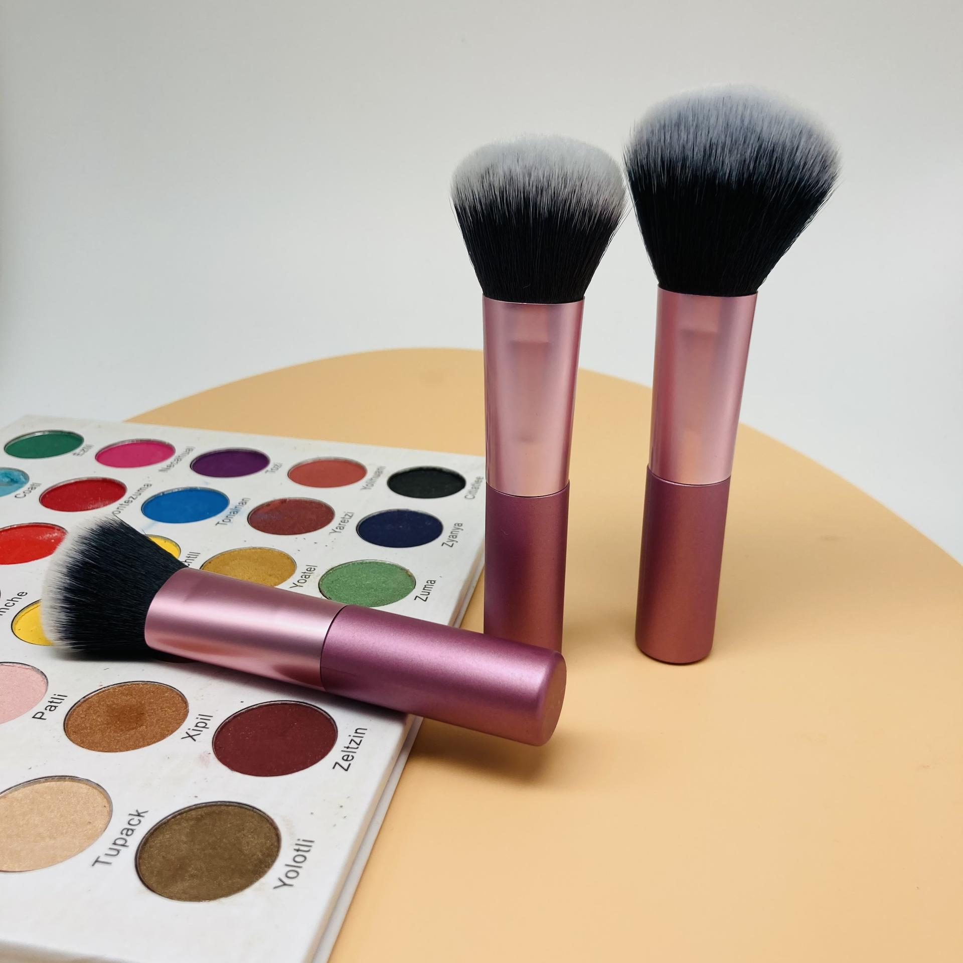 Brush cosmetics high quality make up brushes professional powder cosmetic brush with logo