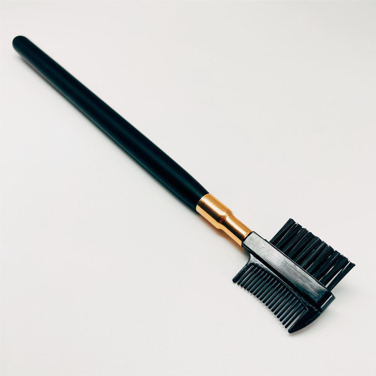 Spoolie and Comb dual spoolie and makeu pbrush Angle Brush and Spoolie