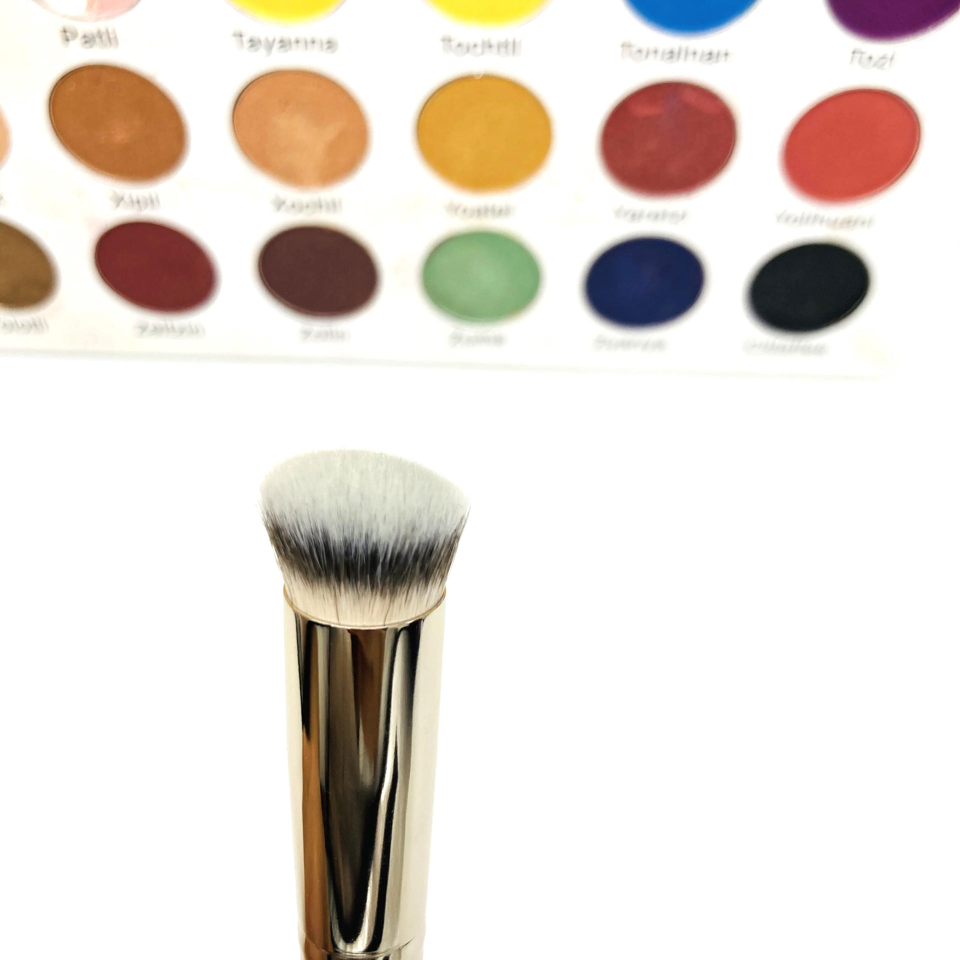 Professional Brush Makeup Synthetic Hair Private Label Vegan Makeup Brush Cruelty Free Single Foundation Concealer Makeup Brush