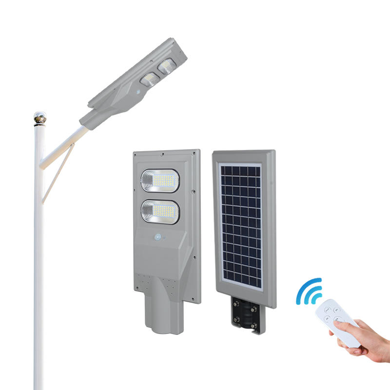 ALLTOP New Product IP65 outdoor waterproof ABS 30w 60w 90w 120w 150w solar panel integrated all in one led street light