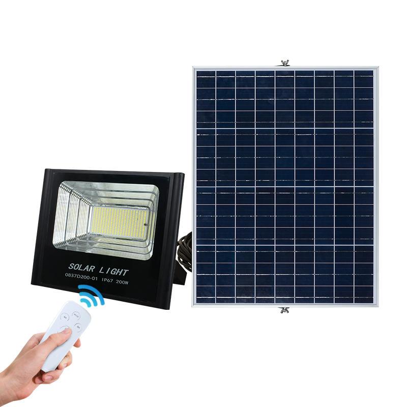 ALLTOP Aluminum outdoor waterproof ip67 smd 50w 100w 150w 200w solar led flood light