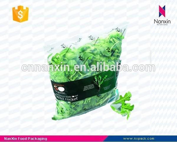 plastic fresh vegetables packaging bag