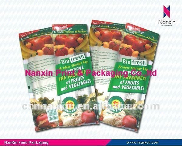 plastic vacuum packaging bag frozen food packaging