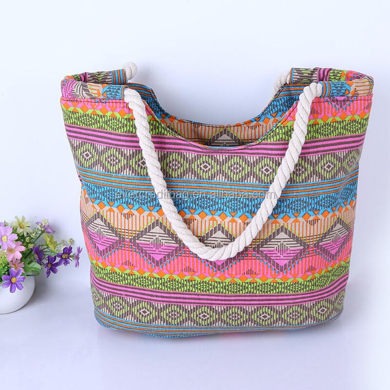 2015 Summer Beach Bag Tote Handbag