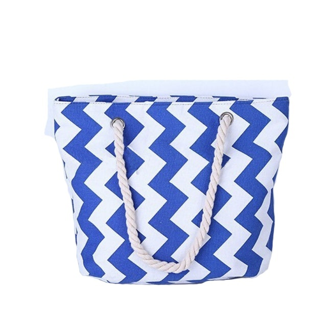 New style canvas design beach bag