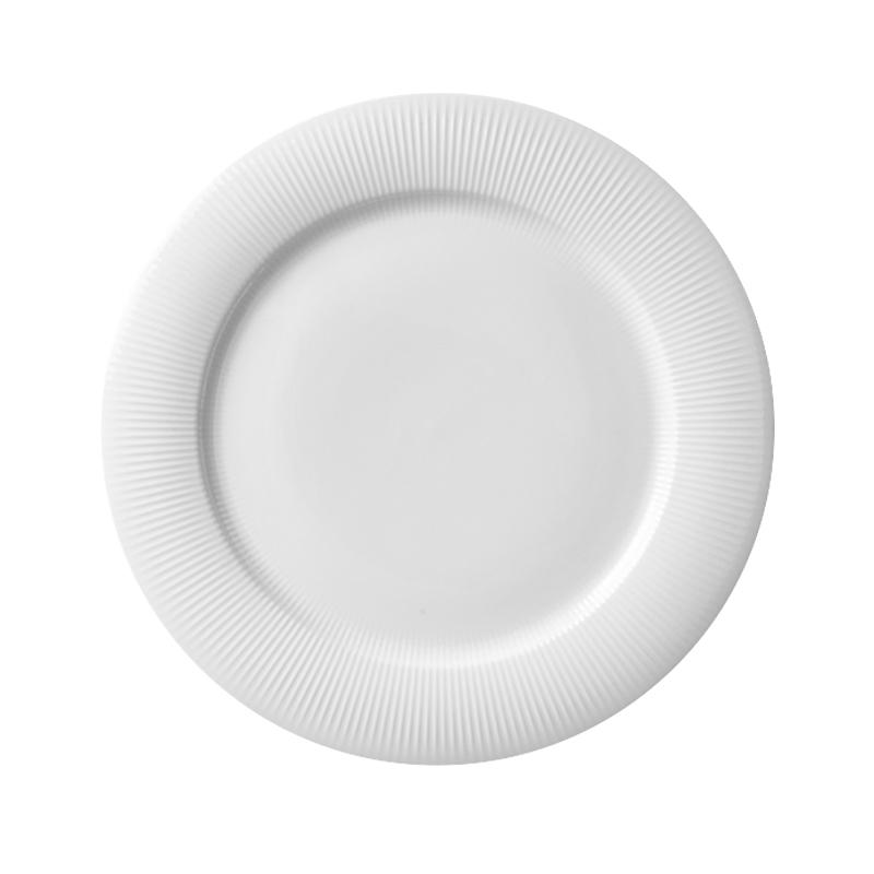 Modern Porcelain Custom Printed Dinner Plates Restaurant Crockery For Hotel^