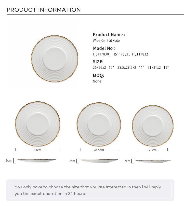 Custom Restaurant Dinnerware Cheap Bulk Dinner Plates, Nordic Ceramic Plate, Dinner Plates/