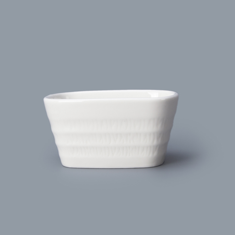 restaurant supplier Ceramic sugar candle container for coffee shop