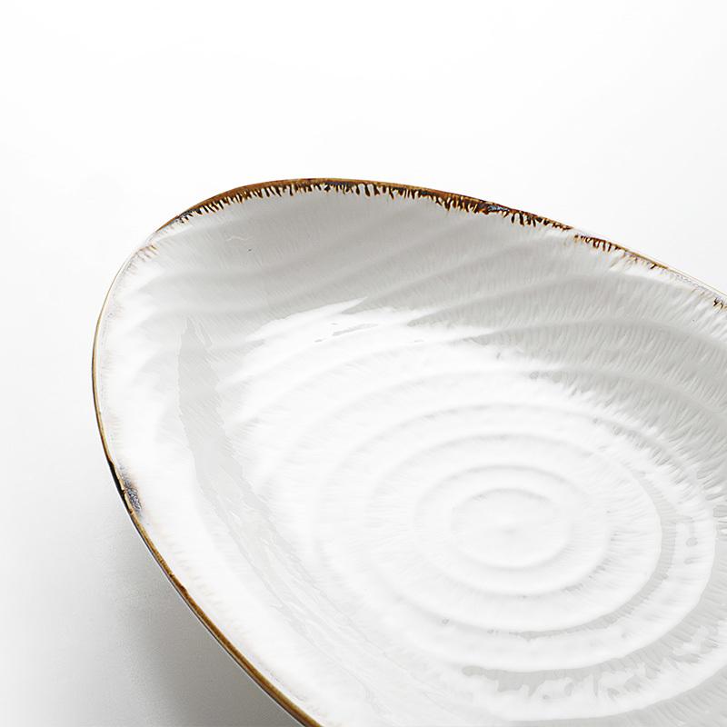Restaurant Oval Plates Dinnerware, Restaurant Porcelain Oval Plate, Oval China Dishes Dinnerware&