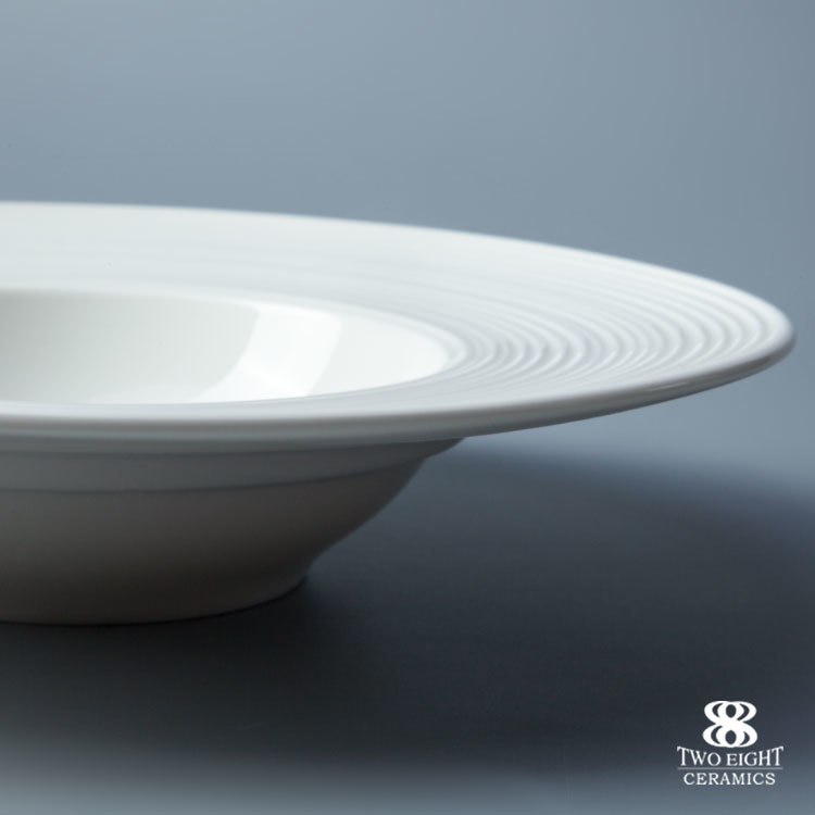 Wholesale western crockery dinnerware white restaurant hotel ceramic plate good 11